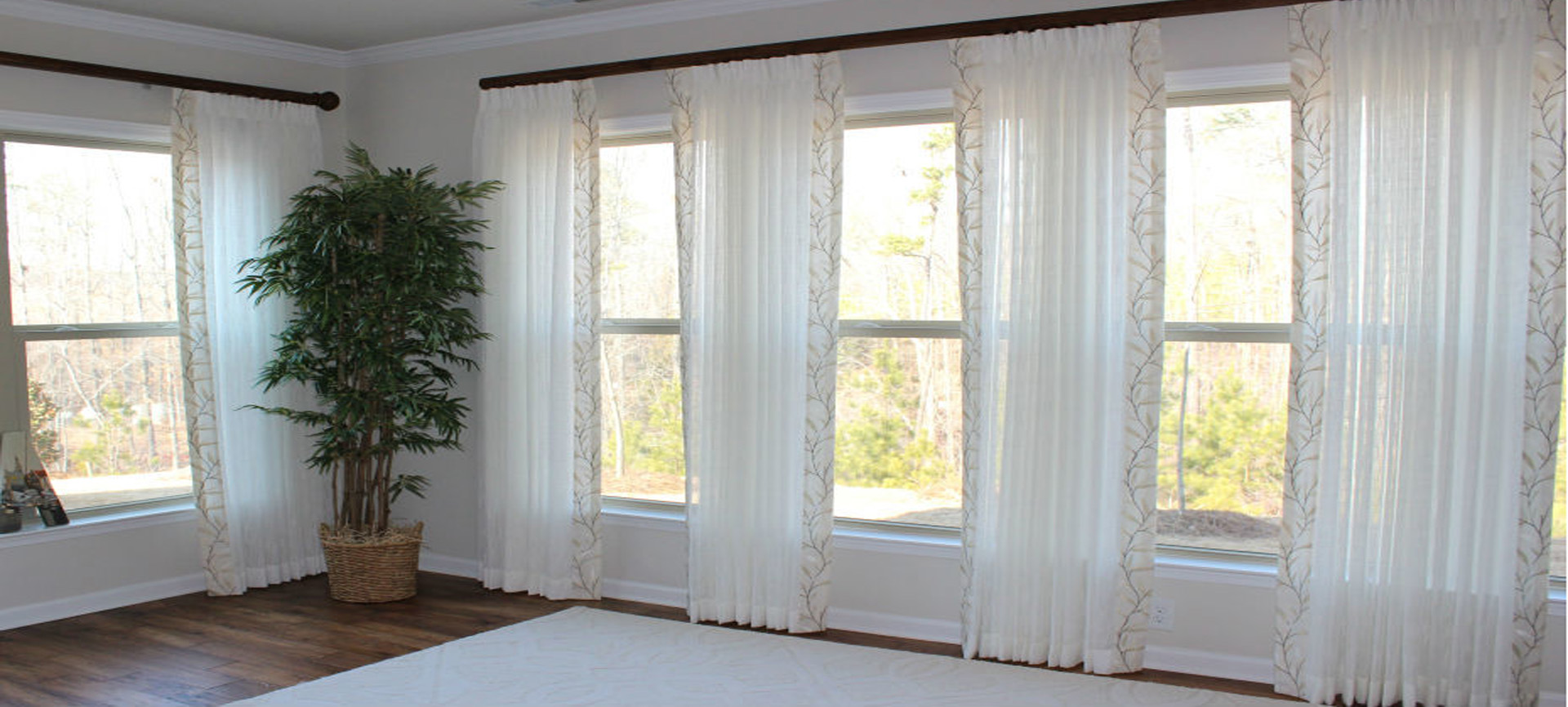 Custom window treatments custom jcpenney home window for Custom window treatments